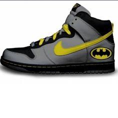 More Batman Nike Dunks.