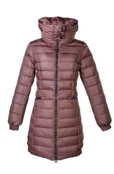 """HGL-1224 Annie Happy Goat Lucky 600 Fill Power 34"""" Down Jacket Happy Goat Lucky. $179.00"""