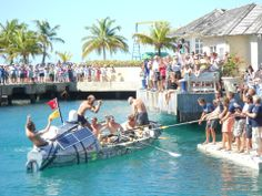 2012 - Rory arrives in Barbados at the end of hos row across the Atlantic with the Row2Recovery team.
