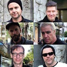 Till lindemann // Christian flake lorenz // Paul landers // christoph Schneider // Oliver reidel // Richard kruspe // rammstein