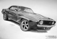 '69 Chevrolet Camaro SS by Sven Deinum