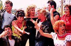 Grease gif <3 :)!!! Grease 1978, Grease 2, Grease Movie, Sonny Grease, Grease Characters, Grease Is The Word, Baby Clothes Brands, 70s Aesthetic, American Graffiti