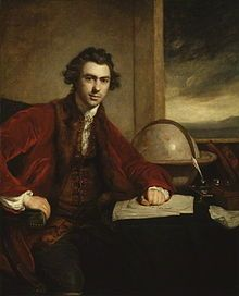 Sir Joseph Banks, naturalist and botanist who was with Captain James Cook on board the HMS Endeavour on its voyage of discovery. It was through his recommendation that William Bligh be appointed Governor of the new colony in New South Wales - resulting in the overthrow of Bligh in the Rum Rebellion.