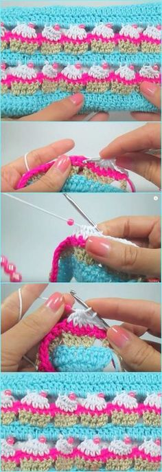 Cupcake Crochet Stitch and Cupcake Case [Free Pattern and Video Tutorial]