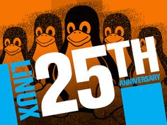 August 25 marks the 25th anniversary of Linux, the free and open-source…
