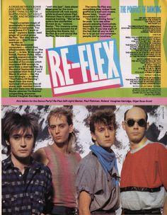 RE-FLEX, The Politics Of Dancing, 1984