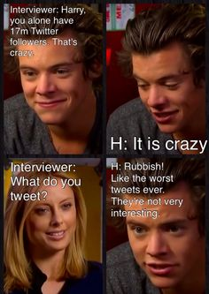 """At least he knows he tweets a load of crap! :) One Direction Funny Moments of 2013 
