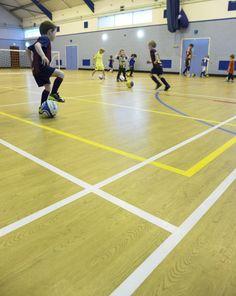 great job kirkton flooring, of livingston, fitting taraflex™ sport