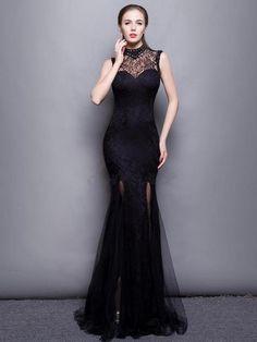 ファッション2016 新品 襟付きの背中開き綺麗目 上品 イブニングドレス ロングドレスは格安とか人気のものなどいろいろな種類があり、ここで。一番のサービスと最高品質の商品Doresuweで提供しています。