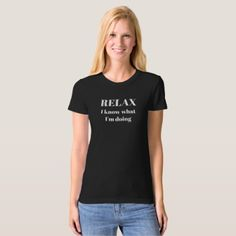 Black women's tee - girl gifts special unique diy gift idea