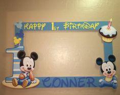foto marco partido prop Mickey mouse 1 º por titaspartycreations