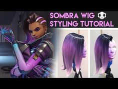Sombra Wig Styling Tutorial - YouTube