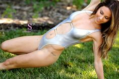 BRENNA - SEXY IN SILVER - Live on the 16th!  www.swimsuit-heaven.net/join  Babe #Brenna is back! This time in her #silver #Skinzwear #onepieceswimsuit!  There is no denying that Brenna is amazing. Her sleek body is so streamlined and she knows how to show it off!  What will be your favourite part of this set? Mine is the way the swimsuit sits across her breasts and stomach.  She looks incredible and her #smile will make your day and night complete!  #join #swimsuitheaven #ops #spandex…
