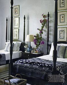 4 Poster Beds Blue Bedroom S Guest Bedrooms Master