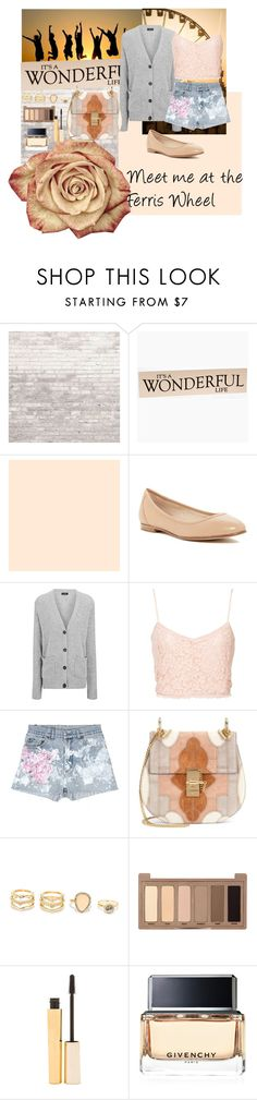 """Summer Fair"" by musie-della ❤ liked on Polyvore featuring WALL, Via Spiga, Joseph, NLY Trend, Rialto Jean Project, Chloé, LULUS, Urban Decay, Stila and Givenchy"