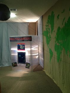 VBS 2014, agency d3 Maps room