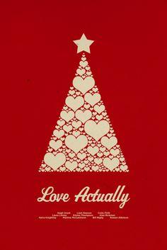 Love Actually #minimal #movie #poster