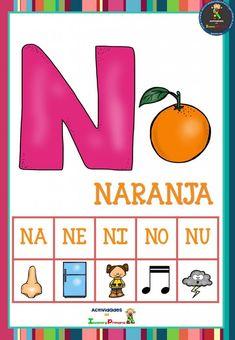 Preschool Learning Activities, Spanish Activities, Kids Learning, Bilingual Education, School Colors, Teaching Materials, Phonics, Homeschool, Spanish Class