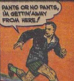 Comics Make No Sense: Duck, Ladies! A Man's Coming In!