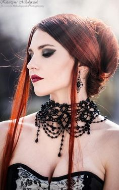 Exhilarating Jewelry And The Darkside Fashionable Gothic Jewelry Ideas. Astonishing Jewelry And The Darkside Fashionable Gothic Jewelry Ideas. Gothic Girls, Gothic Lolita, Dark Fashion, Emo Fashion, Gothic Fashion, Fashion Clothes, Style Fashion, Fashion Accessories, Goth Beauty