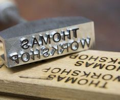 Make your own branding iron with a Tormach (CNC Mill)