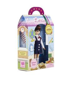 School Days Lottie Doll : see more at http://www.lottie.com/collections/all-products/products/school-days-lottie-doll