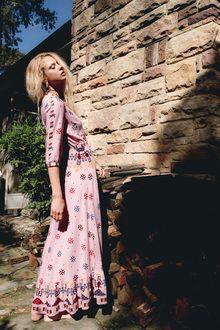 Vast Horizon Maxi Dress in Musk Pink