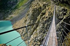 Trift bridge , Switzerland
