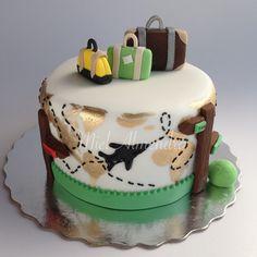 30th Birthday Cake For Women, 30 Birthday Cake, Cupcakes, Cupcake Cakes, Pretty Cakes, Beautiful Cakes, Welcome Home Cakes, Canada Birthday, Travel Cake