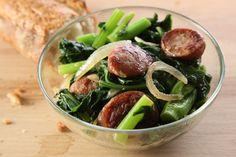 Sauteed Bratwurst w/Broccoli Rabe