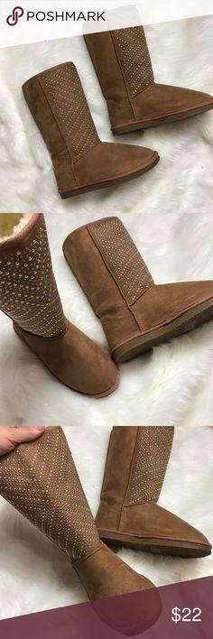 New Just Fab Fuzzies New Just Fab Size 6 JustFab Shoes Winter & Rain Boots