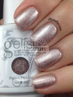 Gelish Oh What a Knight! - Once Upon a Dream Collection one of my new colours Feb 2014