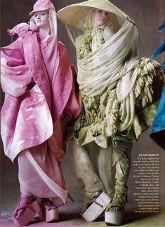 Joy to the World John Galliano styled Grace Coddington