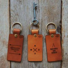 Leather Key Chain | Luggage Tag – Reykjavik Outpost