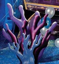 CORAL STANDEE * under the sea party decorations * mermaid * ocean
