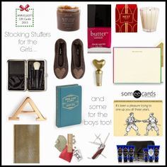 Gift Guides: Stocking Stuffers