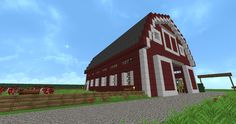 Redwood Farm | Minecraft Building Inc