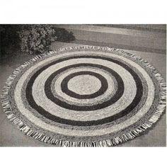 Simple Crochet Rug Pattern