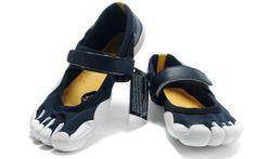 66d82d69085d Mens Vibram Five Fingers Sprint Shoes Dark Blue White