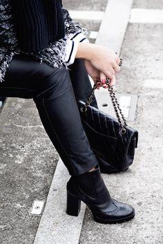Proč tenhle outfit bude vždy fungovat aneb mé vyznání Coco Chanel! #skolastylu #outfit #motivace #styling #jaknosit #jakseoblekat #chanel Coco Chanel, Zara, Vogue, En Vogue