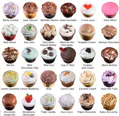 Want to have some popular cupcakes? Below are some of the popular cupcakes that you can enjoy everyday. Most popular cupcakes are always chocolate cupcakes, and vanilla cupcakes. Actually Red Velvet Cupcakes are always a hit, too. Gourmet Cupcakes, Cheesecake Cupcakes, Cupcake Flavors, Fancy Cupcakes, Vanilla Cupcakes, Mocha Cupcakes, Filled Cupcakes, Banana Cupcakes, Strawberry Cupcakes
