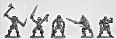 Mirliton SG - Barbarian Berserkers - 5 pack - €8.16