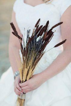 Wheat Wedding Bouquet