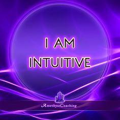 ***Special affirmation week to open chakras*** During the next 7 days we will post an affirmation for each chakra.  Today's Affirmation for the Third Eye chakra: I Am Intuitive <3 #affirmation #coaching