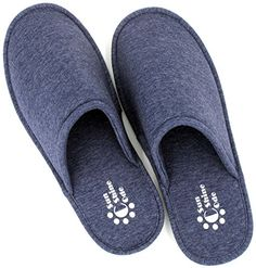 SunnyCode Men's Cotton Indoor Spa House Washable Slippers *** You can find more details by visiting the image link.