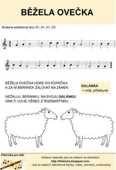 images about flétna noty Image Search, Sheet Music, Chart, Words, Musica, Music Sheets, Horse