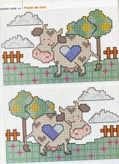 ♥ My point Graphs Cruz ♥: Kitchen: Kitties Country in Cross Stitch