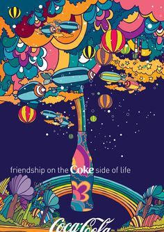Coke goes better with life!