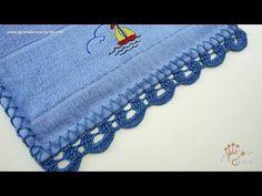 Bico de Crochê Ondinhas - Aprendendo Crochê - YouTube