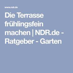 Die Terrasse frühlingsfein machen | NDR.de - Ratgeber - Garten